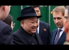 Những hình ảnh đầu tiên của ông Kim Jong-un tại Nga