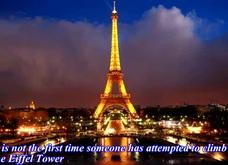 Tháp Eiffel đóng cửa vì một đối tượng cố tình trèo lên