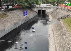 Tiếp tục thử công nghệ Nhật Bản phân huỷ bùn sông Tô Lịch