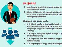Infographics: Doanh nghiệp cần gì để nhận tiền từ gói 62.000 tỷ đồng?