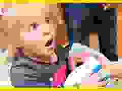 Phản ứng của anh chị lần đầu gặp em bé mới sinh