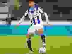 Văn Hậu thi đáu 4 phút ở Heerenveen