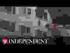Video 2 đứa trẻ nhảy từ lầu 3 xuống để thoát khỏi đám cháy