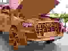 Xem video khắc mô hình ô tô Audi Q7 của thợ Việt