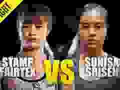 Nữ hoàng võ thuật Thái Lan đánh đàn em mới nổi no đòn
