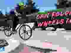 Xem xe đạp gấp Tuck Bike chinh phục địa hình khó