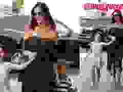 Alessandra Ambrosio ra phố cùng con gái