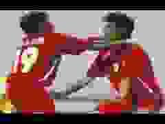 Bàn thắng của Công Vinh vào lưới UAE