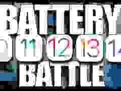 """Phiên bản iOS nào """"ngốn"""" pin nhất từ iOS 10 đến iOS 14?"""