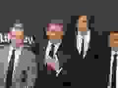 Pierce Brosnan dự sự kiện cùng các con