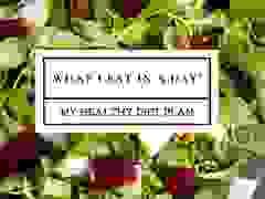 Natalya Wright ăn gì mỗi ngày