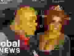 Heidi Klum hóa trang thành Fiona