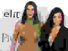 Kim Kardashian đọ dáng với chị gái