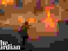 """Biển lửa"" dữ dội đe dọa bang California"