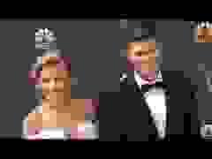Colin Jost đẹp đôi bên Scarlett Johansson