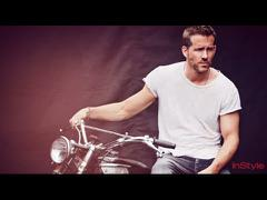 Ryan Reynolds trong một buổi chụp hình cho tạp chí InStyle