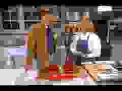 Conan tới thăm nhà Martha Stewart