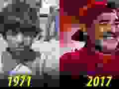 Hình ảnh Maradona qua các giai đoạn