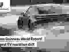 Porsche Taycan lập kỷ lục thế giới cho cú drift bằng xe điện dài nhất