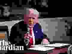 Ông Trump nổi giận với phóng viên, khẳng định vẫn là tổng thống Mỹ