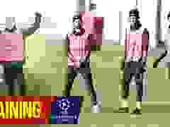 Man Utd tập luyện trước trận đối đầu với PSG