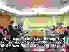 """Chủ nhân công trình """"Lò đốt chất thải công nghiệp nguy hại"""" nhận 200 triệu từ Ban tổ chức Giải thưởng Nhân tài Đất Việt"""