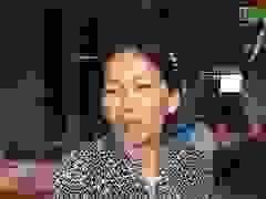 Chị Trần Thị Dung nói về hoàn cảnh của con gái.