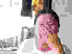 Chị Luận bật khóc khi kể về gia cảnh
