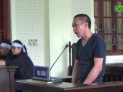 Xét xử Nguyễn Đình Tương phạm tội giết người.