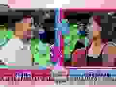 Cuộc trò chuyện giữa cặp đôi hẹn hò trên sóng truyền hình