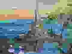 Nữ họa sỹ Hà Nội biến vải vụn thành tác phẩm nghìn đô