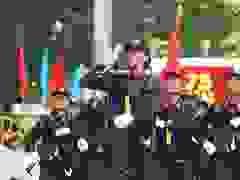 Hàng trăm nữ cảnh sát xinh đẹp diễu binh, diễu hành tại Hà Nội