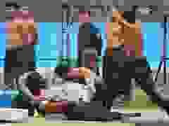 Mãn nhãn với màn biểu diễn khí công điêu luyện của cảnh sát đặc nhiệm