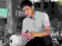 Anh Linh chia sẻ về  quá trình xây dựng mô hình trồng nấm của mình.