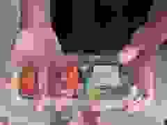 Video miếng sushi phát sáng