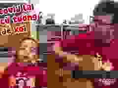 Clip hai bố con ở Hà Nội đàn, hát ca khúc tự sáng tác tặng Đà Nẵng