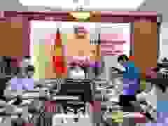 ông Hoàng Quang Phòng - Phó Chủ tịch VCCI - phát biểu sau Phiên họp.