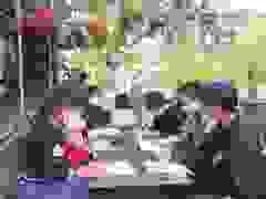 Thí sinh thi tốt nghiệp THPT ở Phú Yên khai báo y tế trước ngày thi