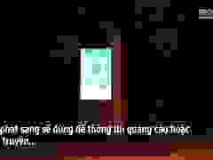 Hàng nghìn thùng rác phát sáng về đêm được lắp đặt tại Hà Nội