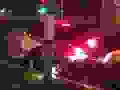 Tài xế say rượu bất ngờ lùi xe gây tai nạn nguy hiểm