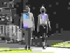 Gwyneth Paltrow và Brad Falchuk cùng đi bộ luyện tập thể dục