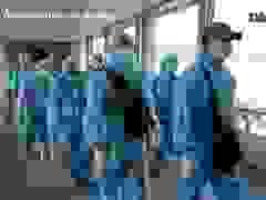 """Hình ảnh 300 hành khách TPHCM trở về từ """"điểm nóng"""" Đà Nẵng"""