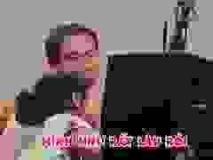 """Con gái 4 tuổi trách Hồ Hoài Anh """"Bố chẳng chịu chơi với con""""."""