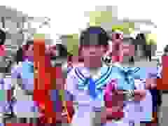 Lễ khai giảng tại Trường Tiểu học Nghi Kim (Nghệ An)