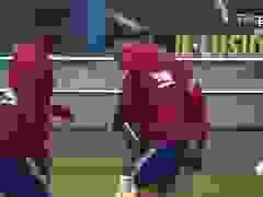Chuẩn bị tới Juventus, Luis Suarez vẫn hào hứng luyện tập cùng Barcelona