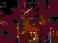 Bầu trời thành phố San Francisco đỏ như ở trên sao hỏa