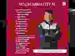 Đội hình ra sân CLB TP.HCM gặp CLB Hà Nội