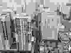 """""""Rừng"""" cao ốc chen chúc trên đoạn đường dài gần 1km ở Hà Nội"""