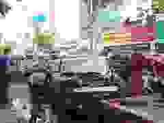 Xe container tông ô tô BMW, nhiều người thoát chết
