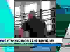 Mike Tyson nhanh nhẹn như ở độ tuổi đôi mươi